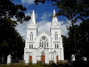 Bikavas Vissvētās Jēzus Sirds Romas katoļu baznīca Logo