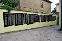 Piemiņas vietas komunistiskā terora upuriem vēsturiskajā Cēsu apriņķī Logo