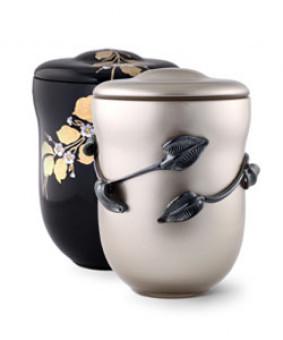 Metāla urnasMetāla urnas