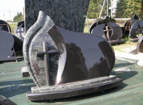 Надгробье с крестом