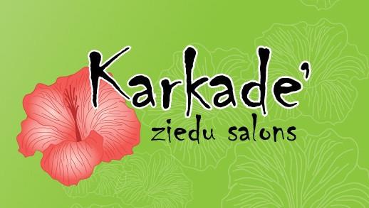 Karkadē SIA Ziedu salons Логотип