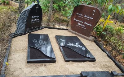 kapa vietas labiekārtošana