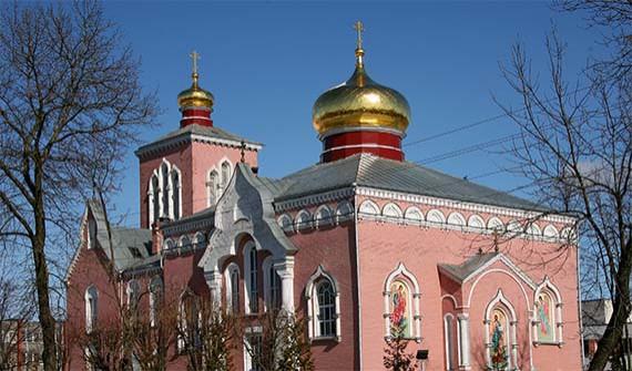 Daugavpils Jaunbūves pirmā vecticībnieku draudze Logo