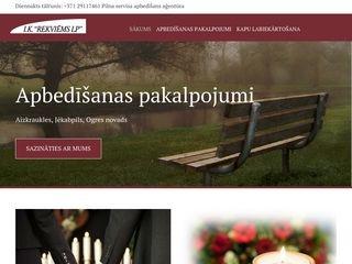 Rekviēms LP webpage