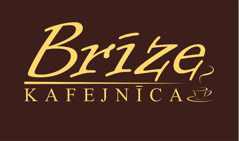 Brīze kafejnīca Логотип