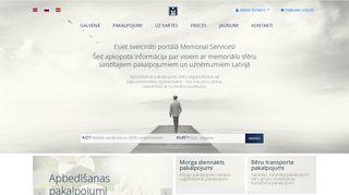 Memorial Services Kapu kopšana un labiekārtošana Mājaslapa