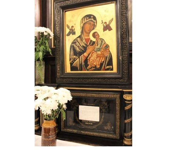 Rīgas Mūsu Kunga Jēzus Kristus Apskaidrošanas grieķu katoļu draudze Логотип