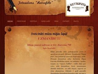 RetroFoto Rīga SIA Mājaslapa