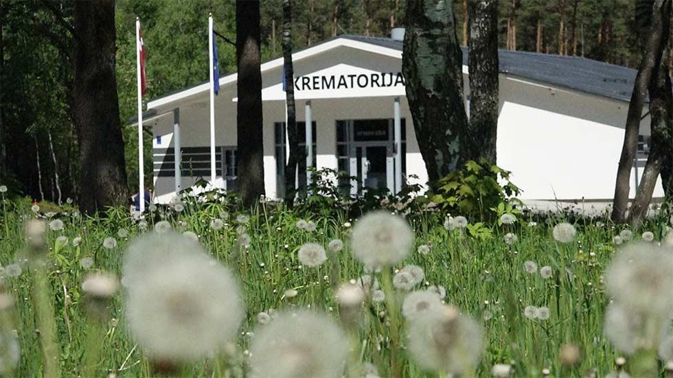 Apbedīšanas birojs, Apbedīšanas nams pārdaugavā, Jaunā Krematorija Галерея