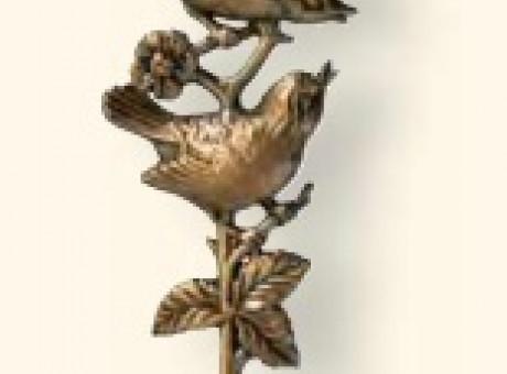 Птицы из бронзы