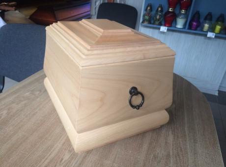 Wooden urns