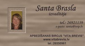 Santa Brasla Vita Brevis LV SIA Логотип