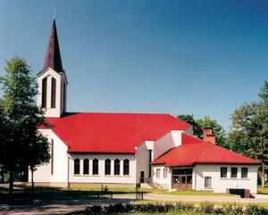 Ogres Svētā Meinarda Romas katoļu baznīca Логотип