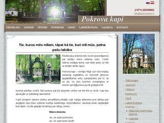 Pokrova kapi webpage
