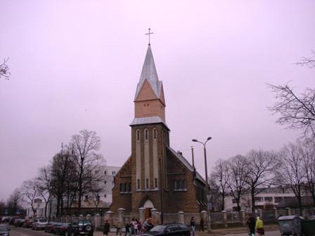 Bolderājas Vissvētākās Jaunavas Marijas debesīs uzņemšanas baznīca Логотип