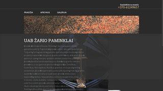 Granīta pasaule LT SIA Mājaslapa