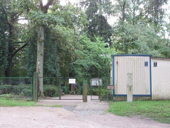 Juglas kapsēta Logo