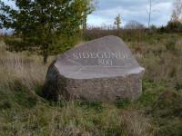 Piemiņas akmens Sidgunda 800