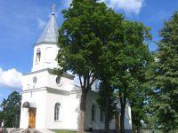 Lazdonas Svētās Trijādības pareizticīgo baznīca Logo