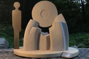 Top skulpturāls veltījums komponistam Aleksandram Kublinskim