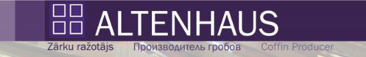Altenhaus, zārku ražotājs Логотип